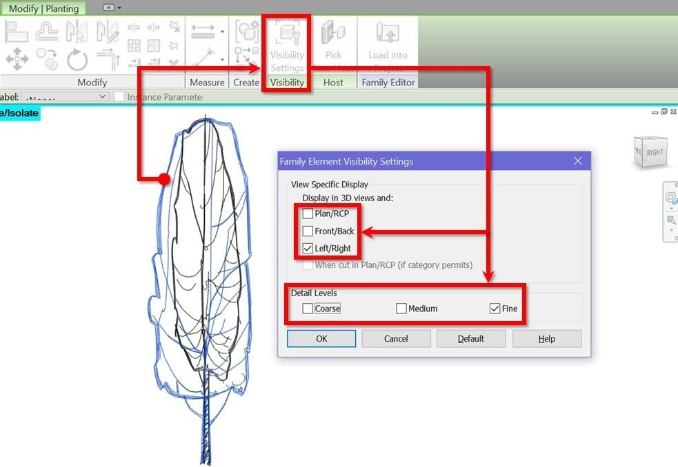 Revit-scalable-tree-10-elevation-visibility-settings