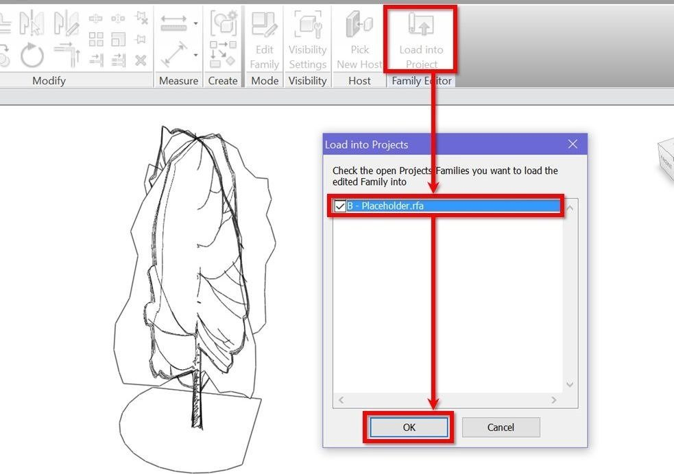 Create scalable Revit trees with custom plan and elevation