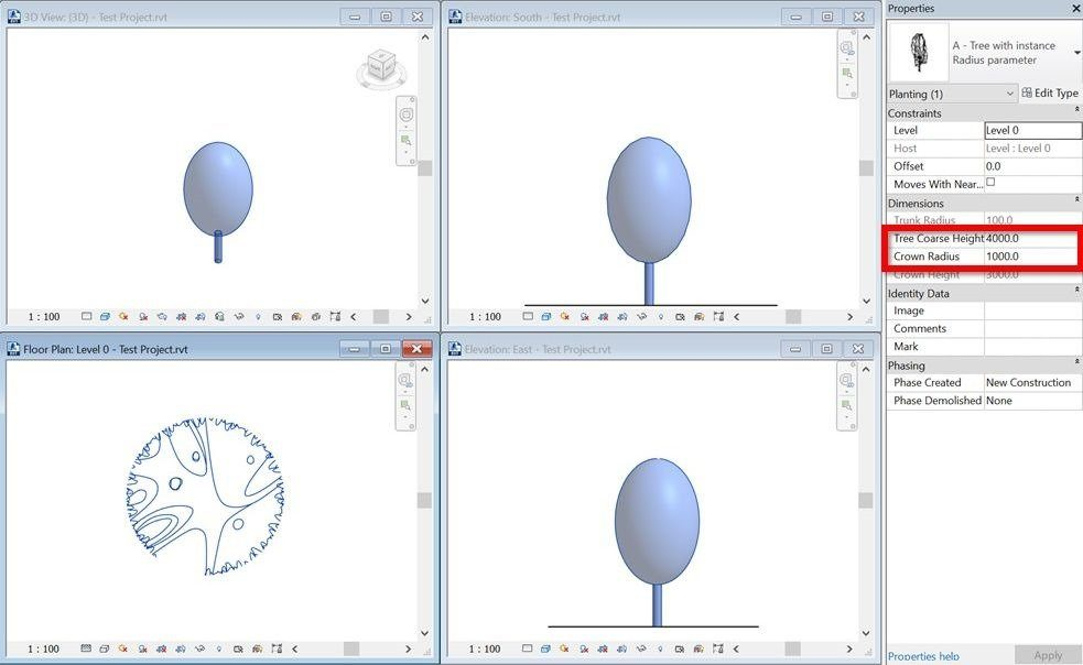 Revit Elevation Key Plan : Create scalable revit trees with custom plan and elevation