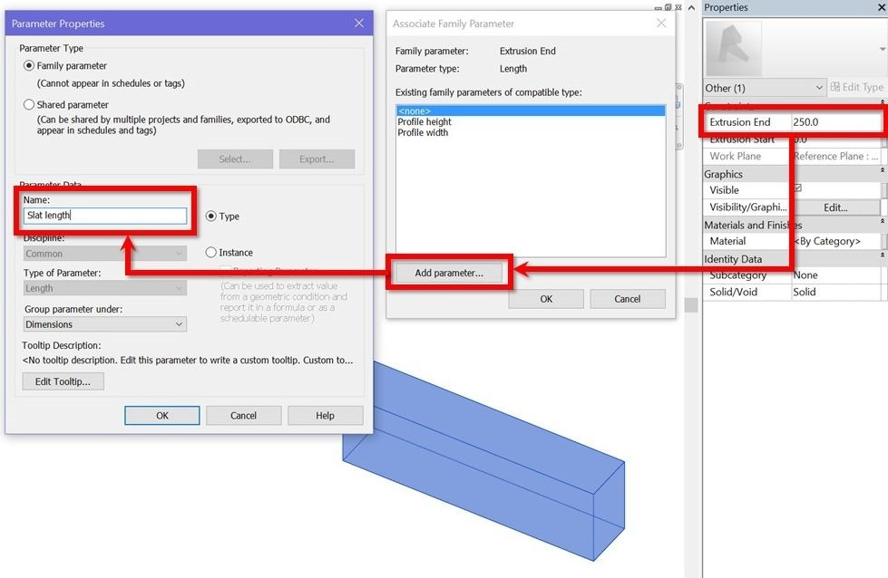 Revit-slatted-ceiling-08-create-length-parameter