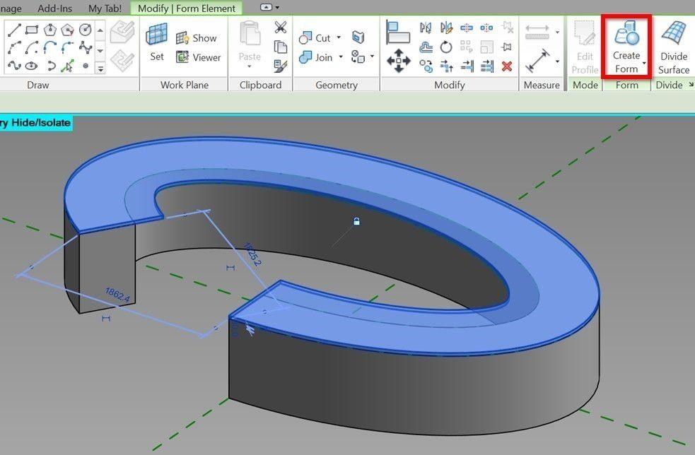 Revit-tutorial-3d-parametric-array-12-create-forms