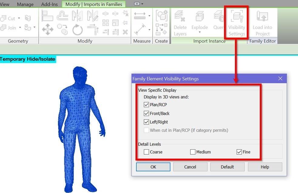 13-Revit-tutorial-3D-people-3D-person-visibility