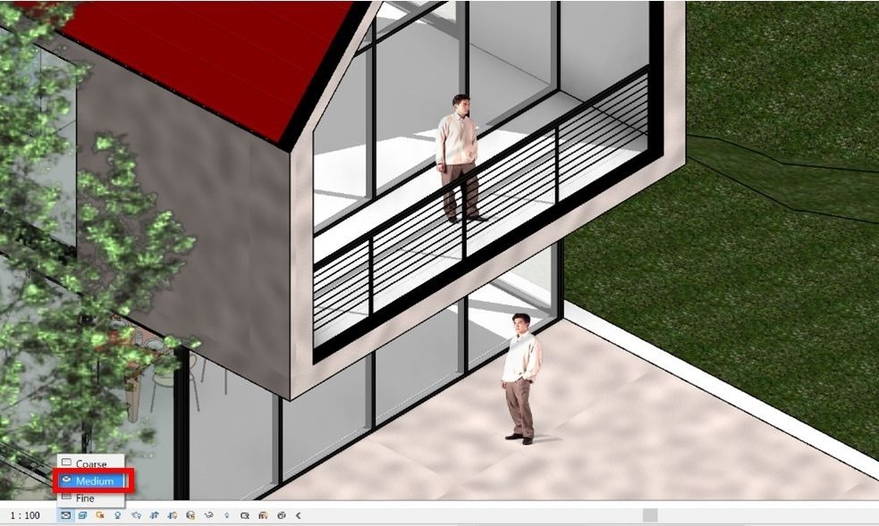 16-Revit-tutorial-3D-people-medium-detail-realistic-mode