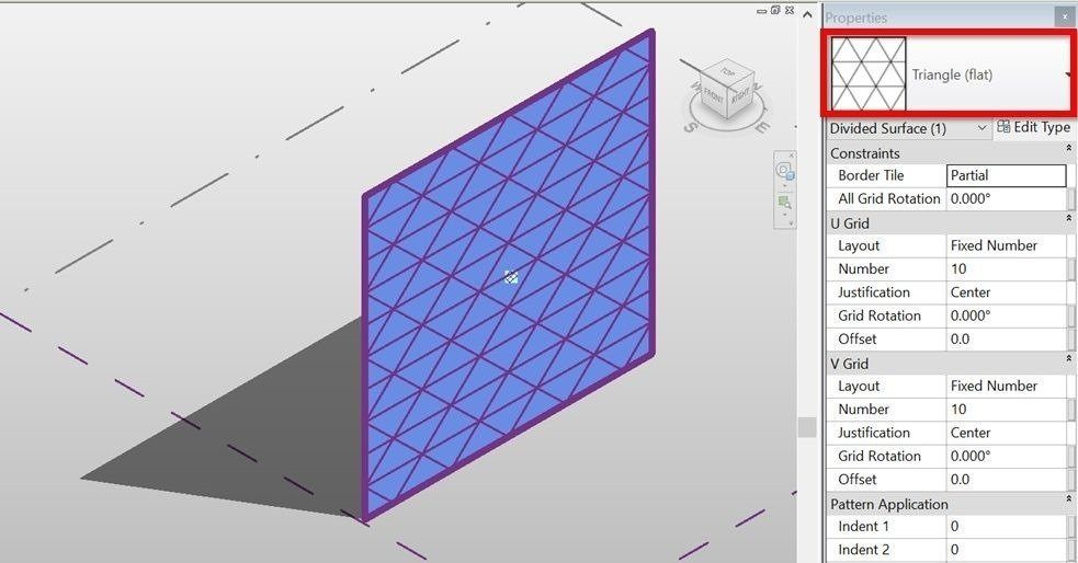 Revit-conceptual-mass-surface-divide