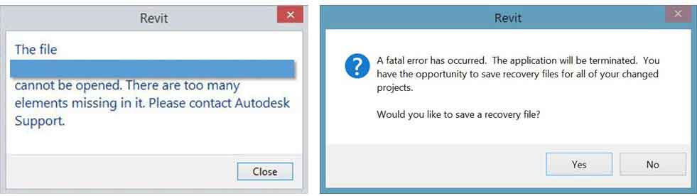 revit error due to imported and exploded dwg cad file