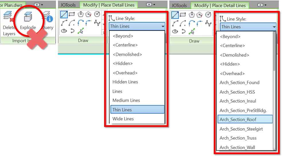 CAD files in Revit: Why & how to delete linked or imported