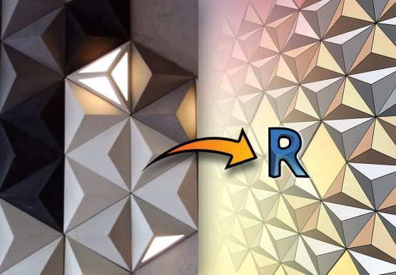 Create 3D Triangle Panels